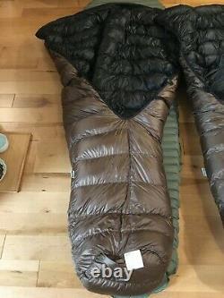 Katabatic Gear Alsek 3 Season Ultralight Quilt Sleeping Bags (pair)