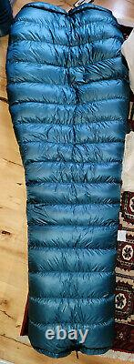 Katabatic Gear Flex 22°F 900FP Quilt Ultralight sleeping bag Size Wide 6'6 long