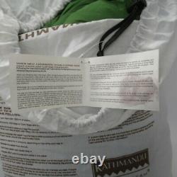 Kathmandu Down Sleeping Bag Globtrotter V4 Green/Silver Size Reg RRP149.99