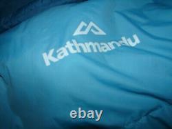 Kathmandu super light ladies down filled sleeping bag. The ultimate in comfort