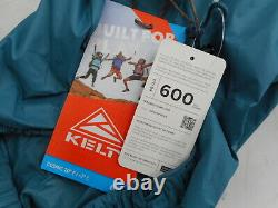 Kelty Cosmic 20 Degree Down Sleeping Bag with Stuff Sack, Blue, Regular