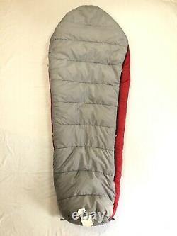 Kelty Cosmic Down 0 Degree 78x31 Red Insulated Warm Mummy Sleeping Bag
