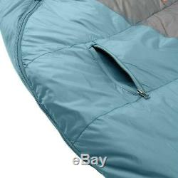 Kelty Men's Cosmic 20 Degree Down Sleeping Bag Blue Regular Right RH Zip 20F