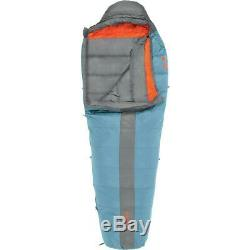 Kelty Men's Cosmic 20 Degree Down Sleeping Bag Blue Regular Right RH Zip 20F