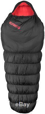 Klymit KSB 0 Oversized Down Sleeping Bag Black