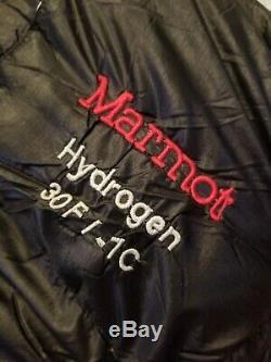 MARMOT ULTRALIGHTWEIGHT HYDROGEN 30 DEGREE 900 Fill Down Quality Sleeping bag