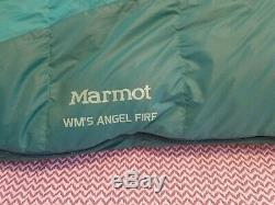 MARMOT Womens Angel Fire Down 25F Sleeping Bag