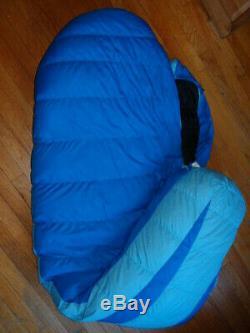 MARMOT Womens Angel Fire GOOSE DOWN 15F -9C COLD WEATHER SLEEPING BAG