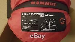 Mammut lahar down sleeping bag