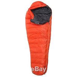 Marmot 0°F Radon Down Sleeping Bag 800 Fill Power Mummy Long Backpacking Camping