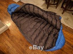 Marmot 15°F Krypton Down Sleeping Bag 800 Fill, New With Tags