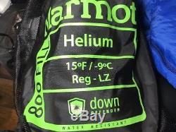 Marmot 15°F Krypton Down Sleeping Bag 800 Fill Power, Mummy, Regular