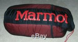 Marmot -40F -40C CWM Cold Weather Down Sleeping Bag with Carry Bag