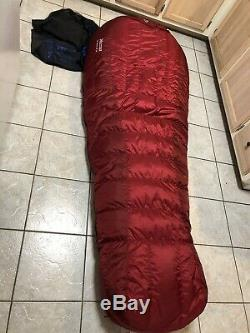 Marmot -40 Sleeping Bag CWM long