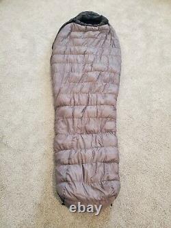 Marmot Arroyo Down Sleeping Bag ULTRALIGHT USED ONCE 30F / -1C 800 Fill