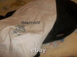 Marmot Black Gopher Goose Down Sleeping Bag Gore-tex -20 Vintage USA NOT Penguin