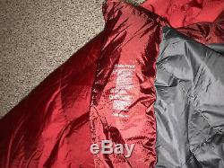 Marmot CWM -40 F Goose Down Sleeping Bag, Regular Length, Left Zipper NWT