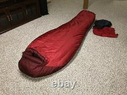 Marmot CWM Goose Down Sleeping Bag Brand New 2019 Model