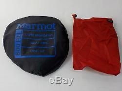 Marmot CWM Sleeping Bag -40 Degree Down Long / Left Zip /33526/