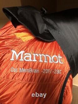 Marmot Col Membrain -20F / -29C Sleeping Bag Size Long