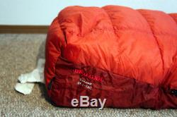 Marmot Couloir 0 Degree Mountaineering Down Sleeping Bag Winter Camping NEW