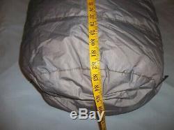 Marmot Gopher Goose Down Sleeping Bag Goretex Lofty Vintage Awesome -20 USA Made