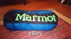Marmot Helium 15 Degree Down Sleeping Bag Regular Length