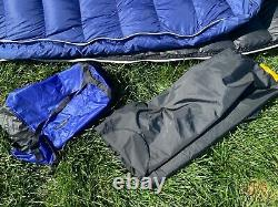 Marmot Helium 15 degree sleeping bag, 850 Goose down fill, Cobalt blue