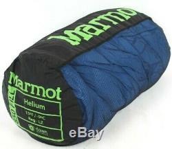 Marmot Helium Sleeping Bag 15 Degree Down Reg/LZ /45517/