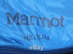 Marmot Helium Sleeping Bag 15 Degree Down Reg/Left Zip /38847/