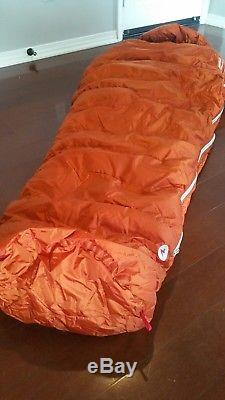 Marmot Lithium Membrain 0 Degree Goose Down Sleeping Bag NWT