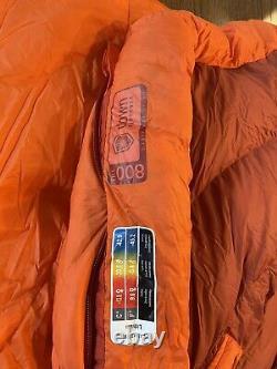 Marmot Lithium Membrane 0 Degree Premium Down Sleeping Bag Long LH Zip