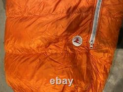 Marmot Lithium Sleeping bag- 0 degree down insultation, used only one night