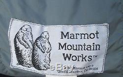 Marmot Mountain Works Down Rare Vintage Sleeping Bag Made in Colorado, USA