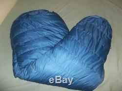 Marmot Mountain Works Ptarmigan Gore-tex Goose Down Sleeping Bag Reg USA Vintage