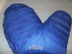 Marmot Mountain Works Ptarmigan Goretex Goose Down Sleeping Bag Long USA Vintage