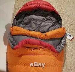 Marmot Never Summer Sleeping Bag 0 Degree Down NWT! 2019 REI Regular Left zip