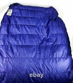 Marmot Osprey Purple Size Regular Down Semi Rec Camping Sleeping Bag