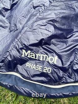 Marmot PHASE 20 Sleeping Bag 850 Fill Down