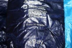 Marmot Phase 20 Size Regular Sleeping Bag 850 Fill Down $459