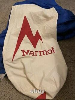 Marmot Pinnacle 800 Goose Down Fill 15 Degree Backpacking Sleeping Bag Left Zip