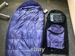 Marmot Radium 20 Duck down Sleeping Bag Regular 650 fill Purchased 2021