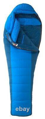 Marmot Sawtooth 15 15F/9C Down Sleeping Bag, Men's Reg, Rt Zip, New