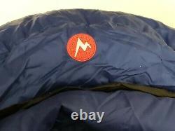 Marmot Sawtooth 15 Degrees F Lightweight Down Sleeping Bag with stuff sack