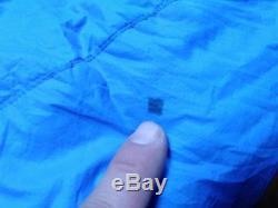 Marmot Sawtooth 15 down degree sleeping bag with granite gear compression sack