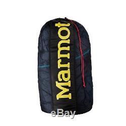 Marmot Scandium 650Down 20°F/-7°C Long Sleeping Bag LH Blue Down Free Shipping