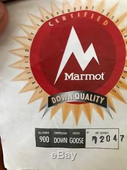 Marmot Sleeping Bag 0 900 Fill Power Goose Down MSRP$500+