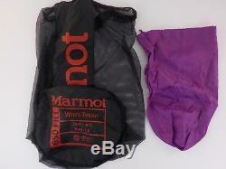Marmot Teton Sleeping Bag 15 Degree Down Women's Reg/Left Zip /35588/