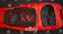 Marmot Womens Teton Down Sleeping Bag, 0 degree F (-18C), Red, Regular