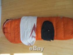 Marmot lithium sleeping bag 0F 850 down fill